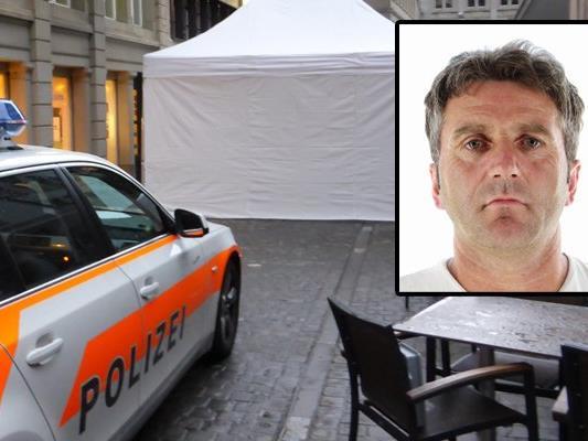 Mord in St. Gallen: Der Täter ist weiterhin auf der Flucht. Die Polizei sucht nach Zeugen.