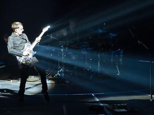 Muse begeisterten ihre Fans in der Wiener Stadthalle