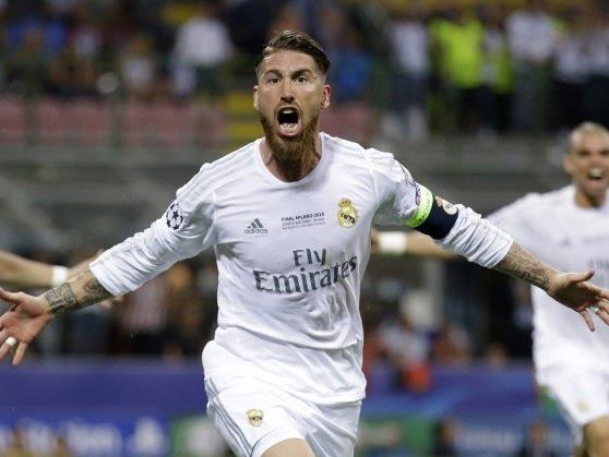 Sergio Ramos schoss das 1:0 für Real Madrid.