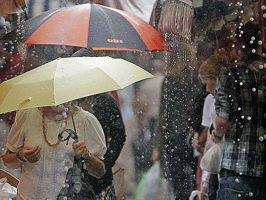 Starker Regen erwartet Wien in den nächsten Stunden