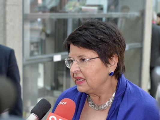 Wirtschaftsstadträtin Renate Brauner bemüht sich um eine Lösung