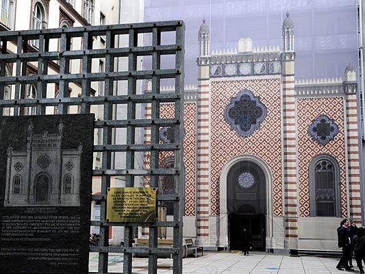 Der Leopoldstädter Tempel - früher gab es weitaus mehr Bethäuser in Wien.