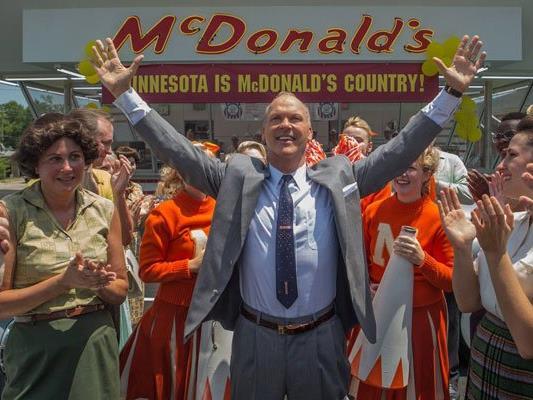 "Michael Keaton spielt in ""The Founder"" das McDonald's-Mastermind Ray Kroc"