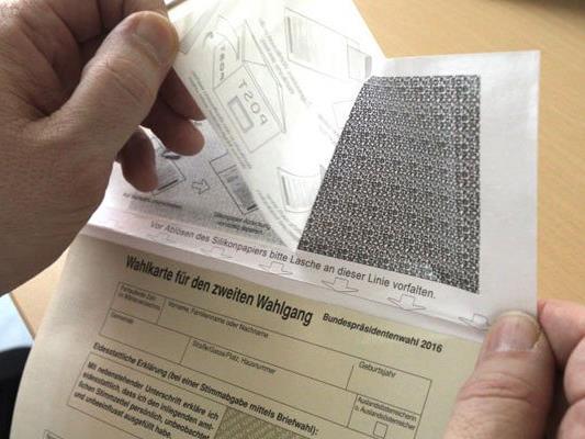 Briefwähler können bereits ihre Stimmen in der Stichwahl abgeben
