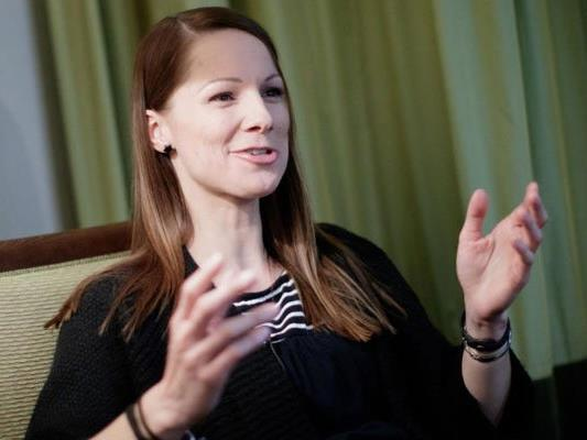 Sängerin Christina Stürmer im Gespräch.