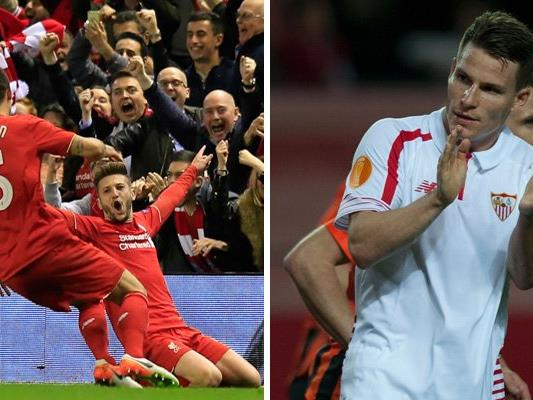 Liverpool und Sevilla stehen sich im Finale der Europa League gegenüber.