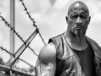 "Muskelbepackt: Dwayne ""The Rock"" Johnson."