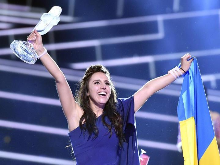 Jamala gewann für die Ukraine den Song Contest 2016.