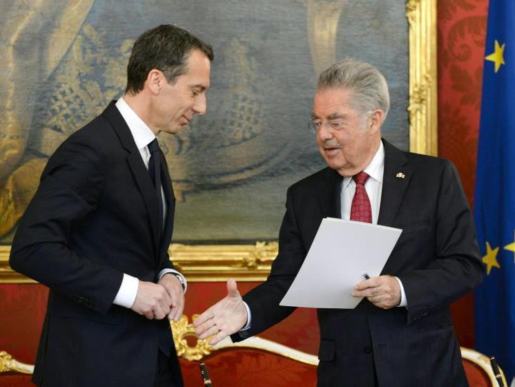 Christian Kern ist als neuer Bundeskanzler in Amt und Würden.
