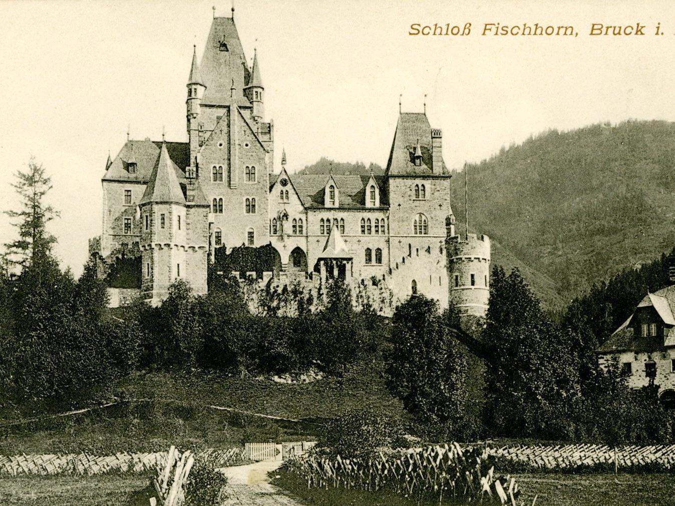 Schloss Fischhorn diente während des Zweiten Weltkriegs als Depot für geraubte Kunstschätze.