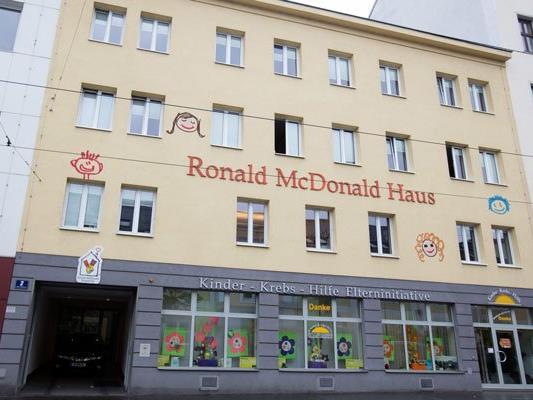 Das Ronald McDonald-Kinderhilfehaus gegenüber dem St. Anna-Kinderspital.