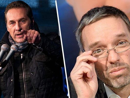Die beiden FPÖ-Mitglieder machen sich für Präsidentschaftskandidat Hofer stark.