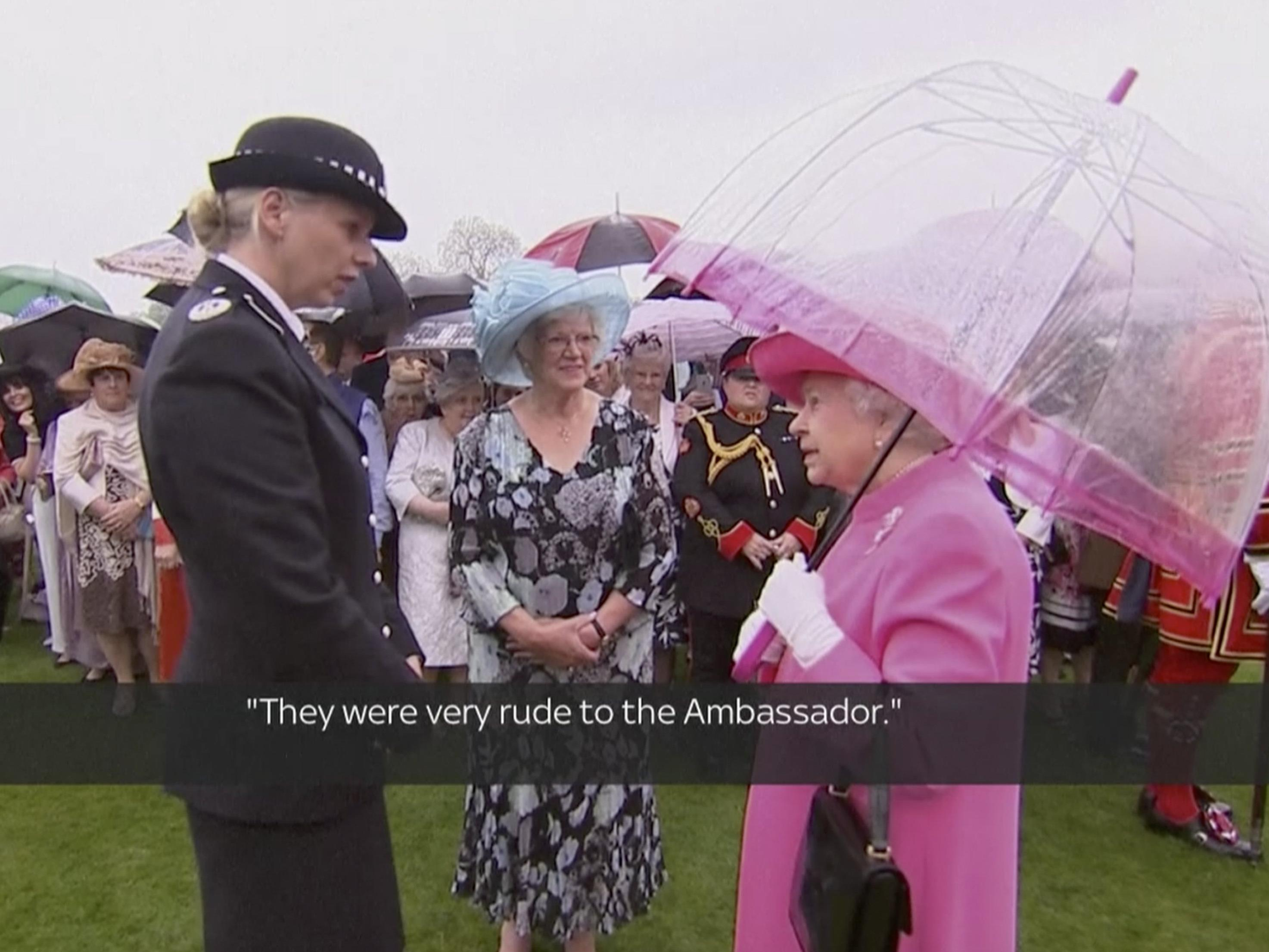 The Queen is not amused - BBC zeichnet undiplomatische Worte auf.