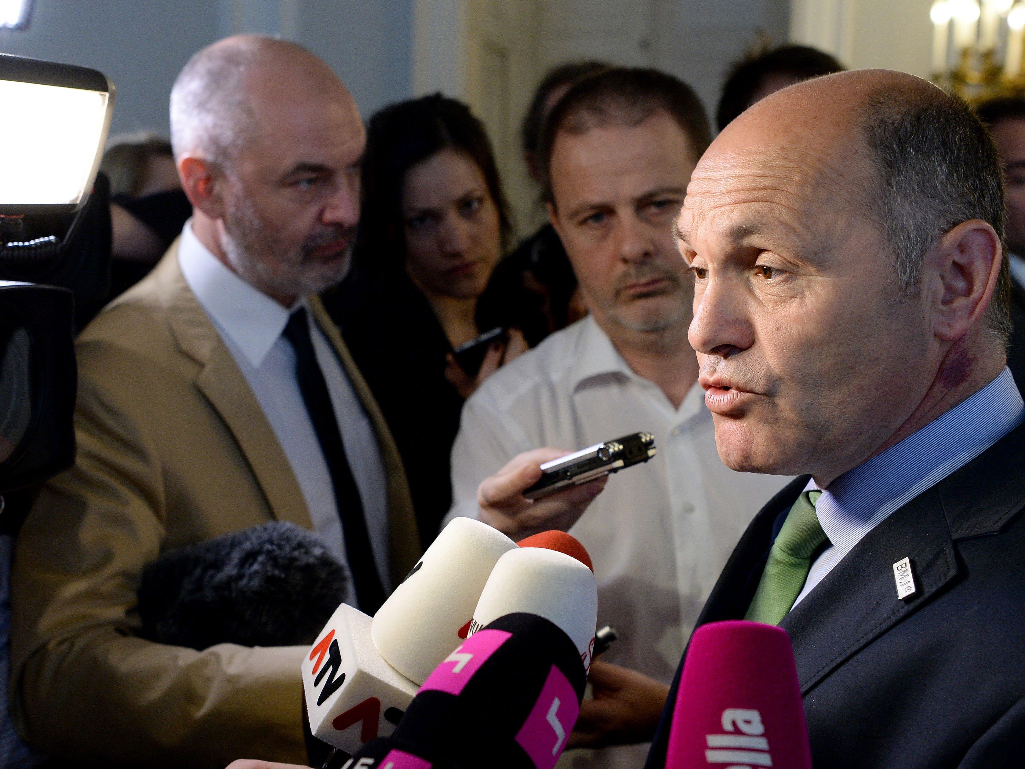 Sobotka möchte eine Kooperation von Südeuropas Polizei gegen die Schlepperkriminalität.