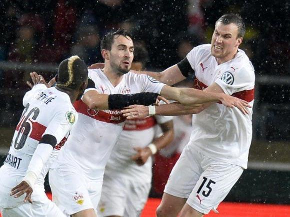 Stuttgart droht der Gang in die 2. Bundesliga.