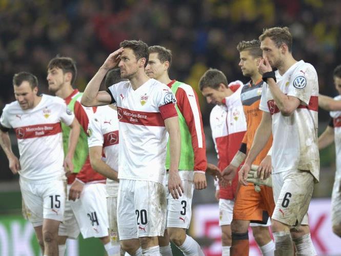 Der VfB Suttgart kämpft gegen den Abstieg