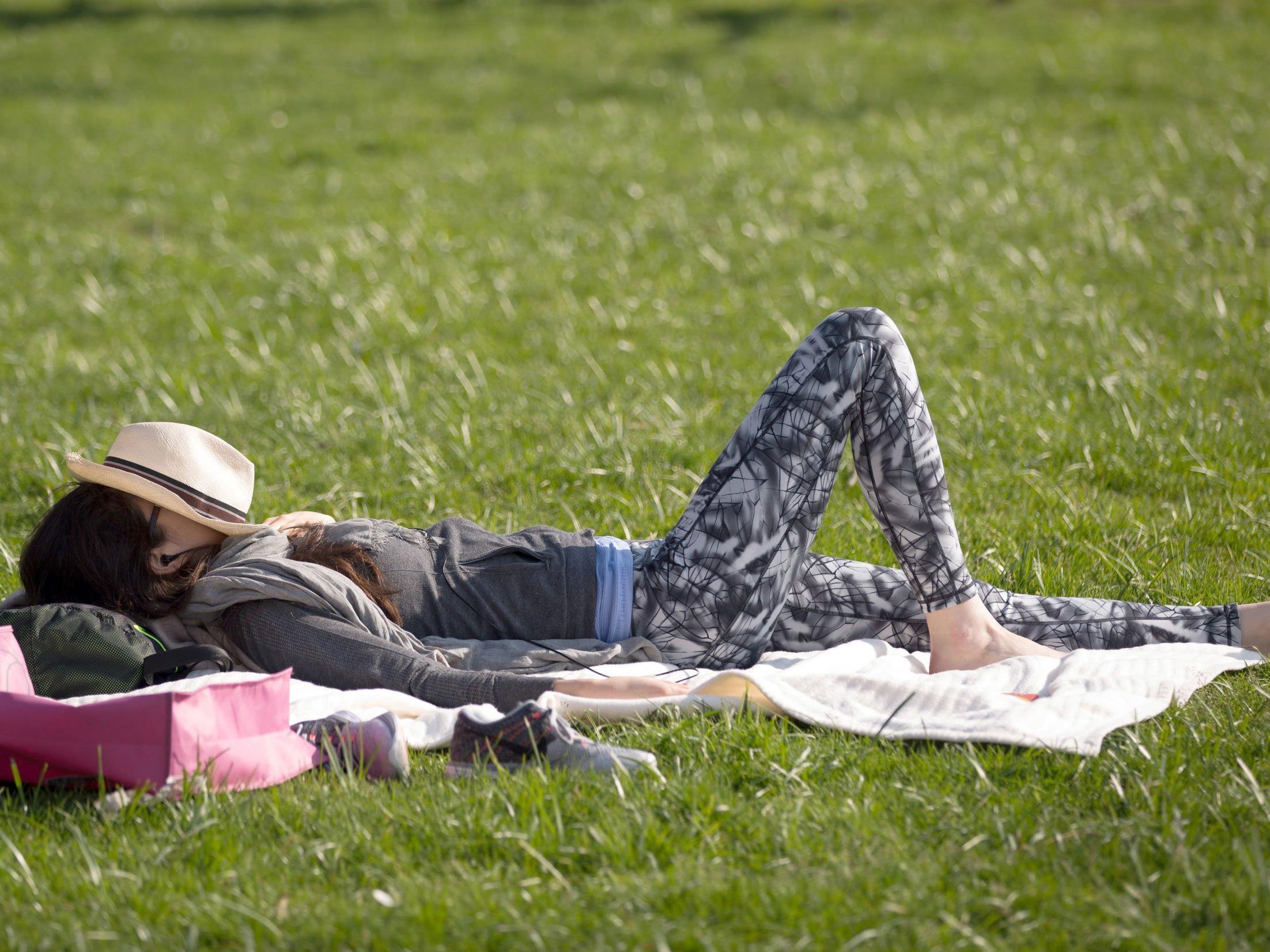 Laut ZAMG steht dem gemütlichen Sonnenbad ab Donnerstag nichts mehr im Weg.