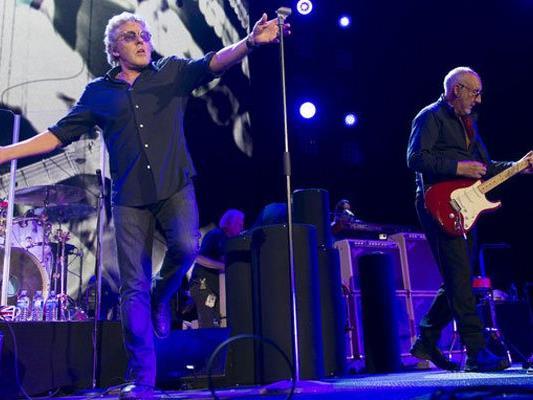 The Who kommen live nach Wien.