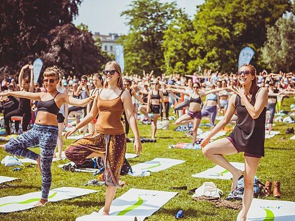 Jede Menge Spaß wartet auf die Besucher der JOYA Yoga Convention