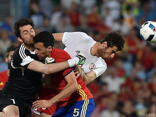 Die Spanier kamen kaum zu Torchancen