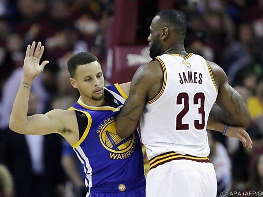 LeBron James von Stephen Curry nicht zu stoppen