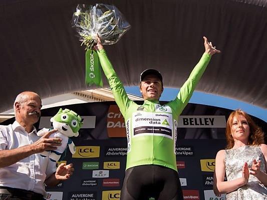 Boasson Hagen sprintete sich ins Grüne Trikot