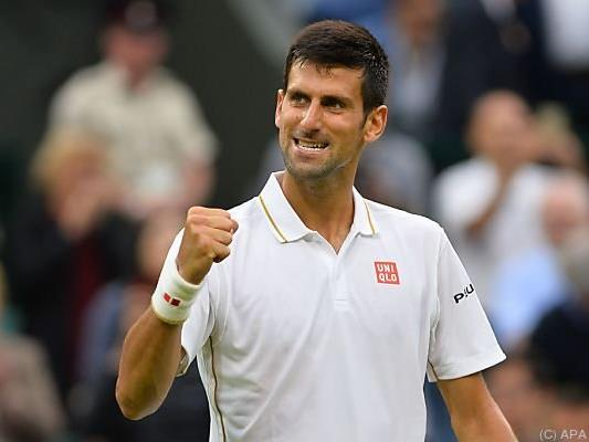 Novak Djokovic schlug Adrian Mannarino