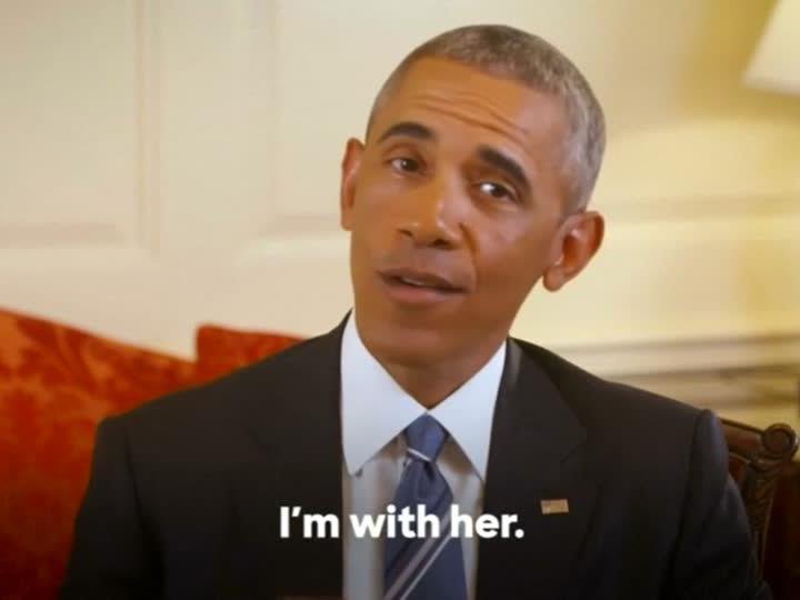 Obama stellt sich im US-Wahlkampf hinter Clinton.