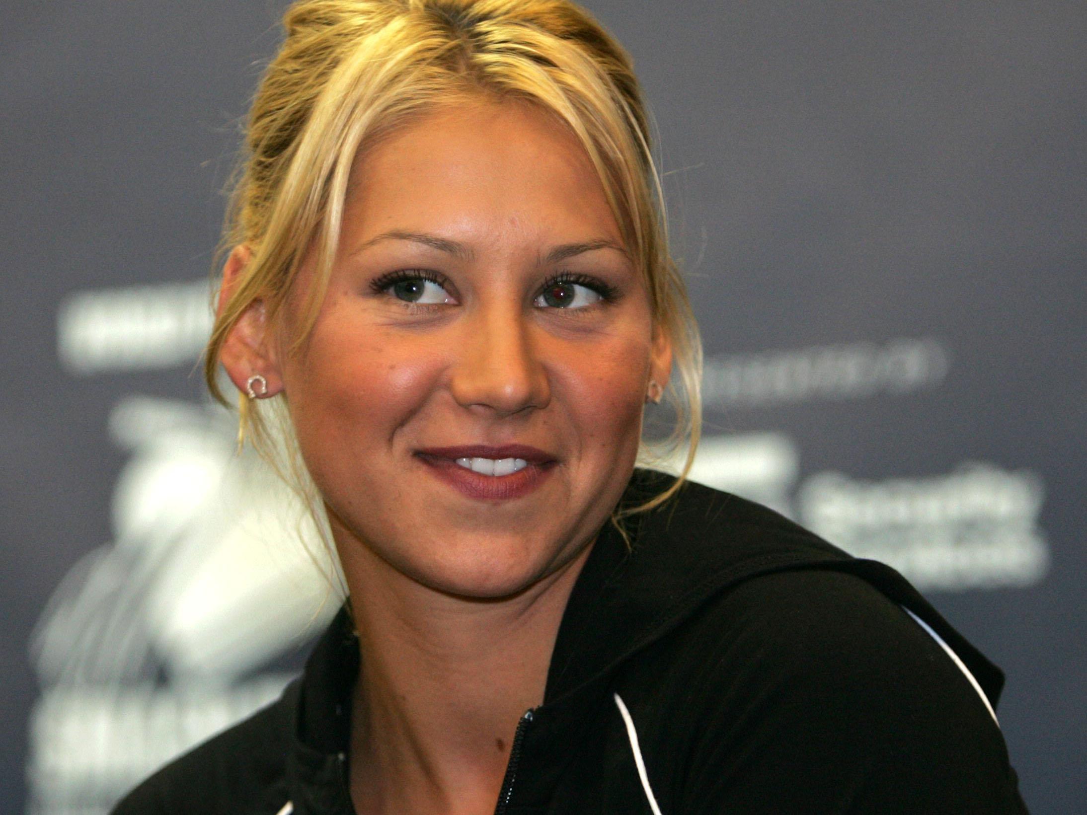 Schon während ihrer Karriere war Anna Kournikova ein echter Hingucker.
