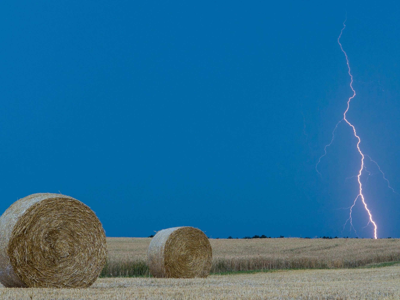 Kärtner Landwirt wurde vom Blitz getroffen