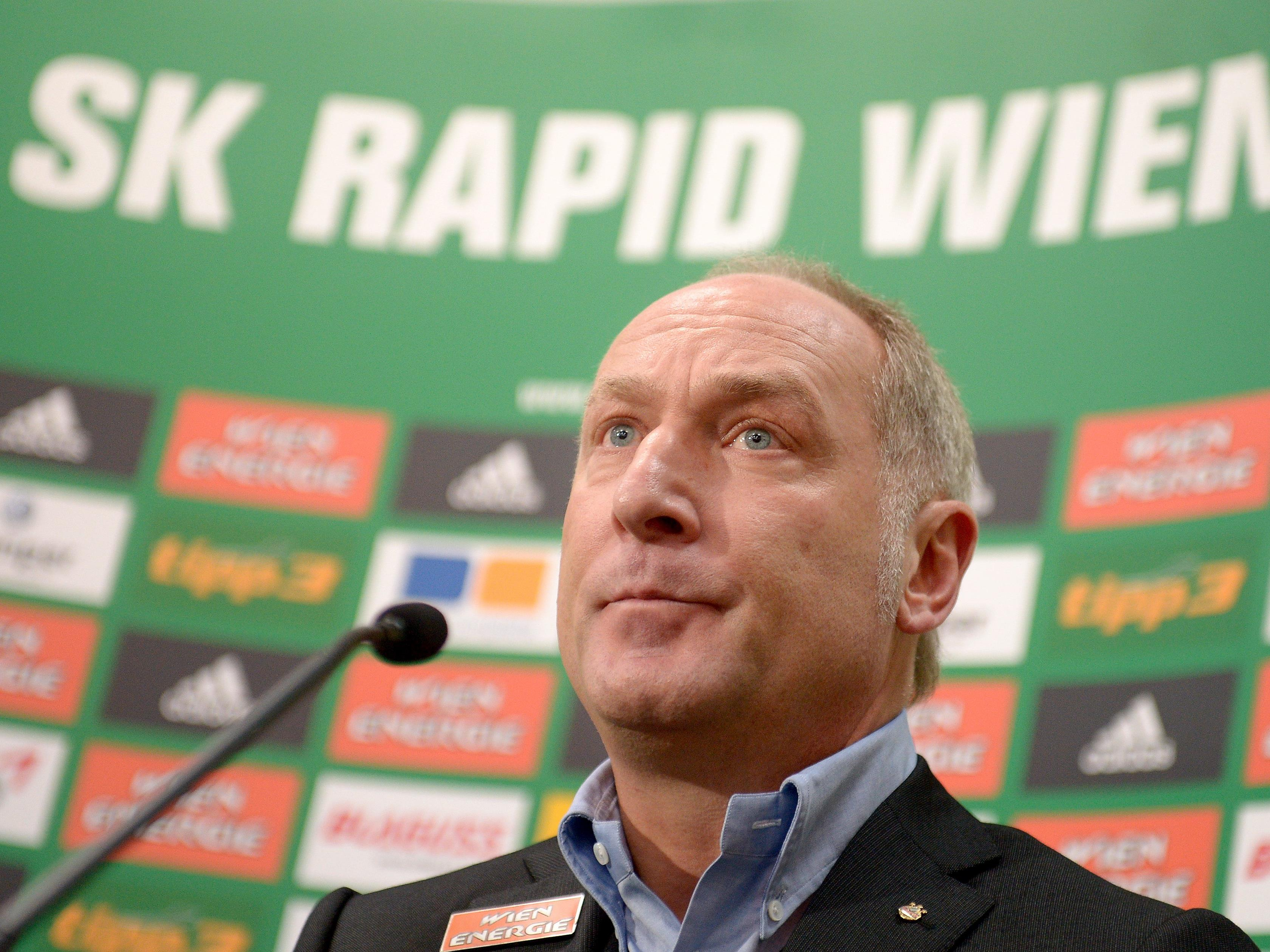 Rapids Sportdirektor Andreas Müller.