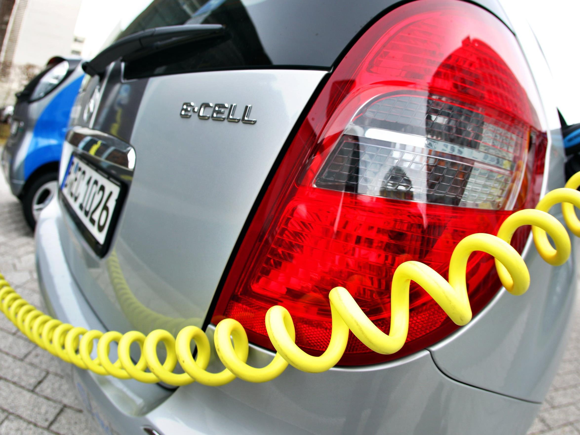 E-Autos sind auch in Österreich im Kommen.