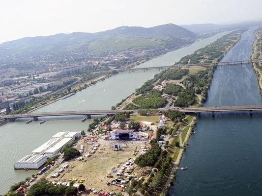 Bei der Wiener Donauinsel starben am Sonntag zwei Männer.