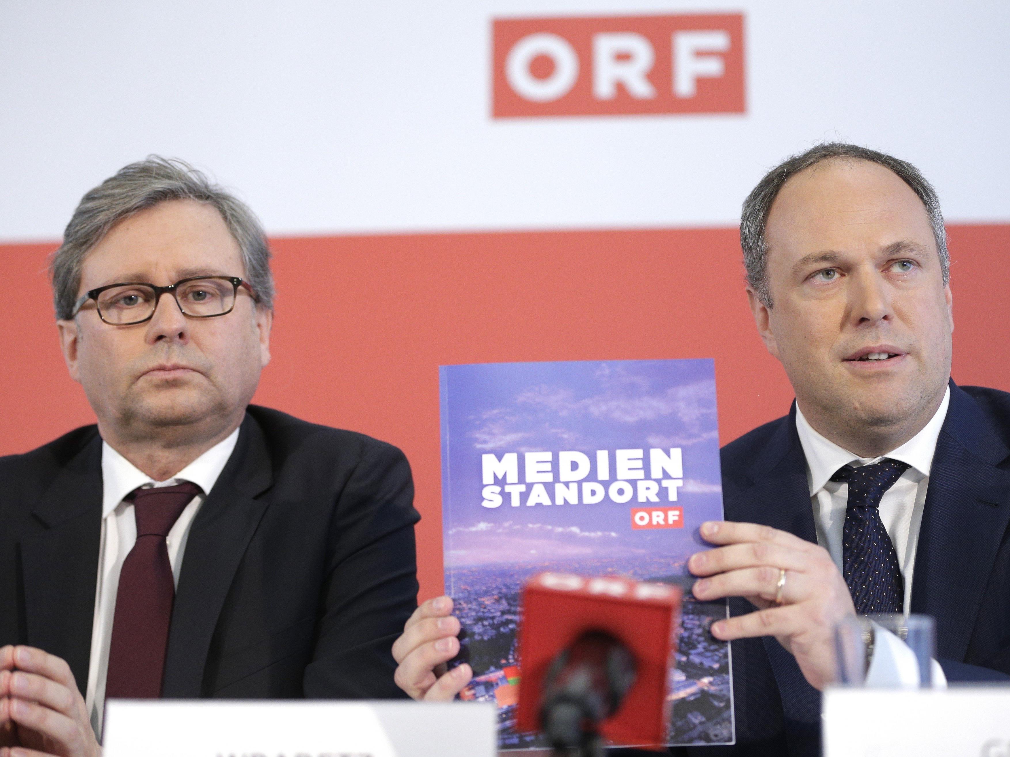 Spannung vor der ORF-Wahl.