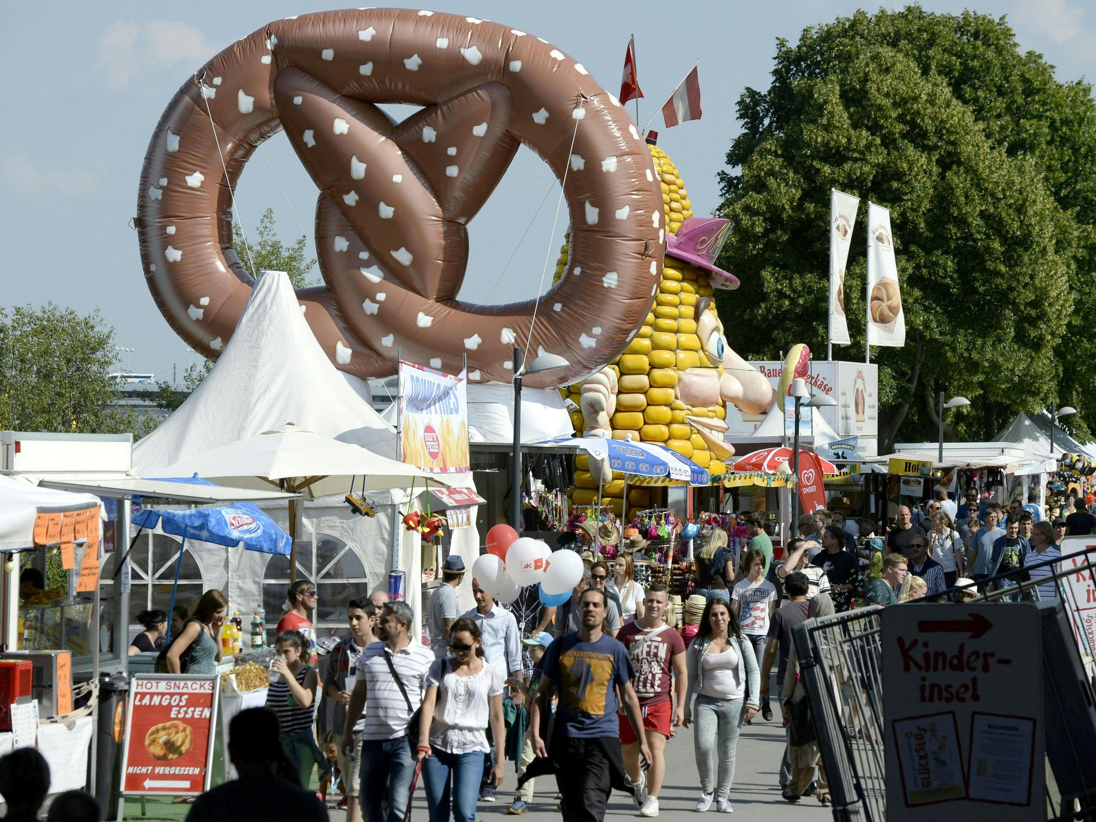 Abwechslungsreiches Kinderprogramm am Donauinselfest 2016.