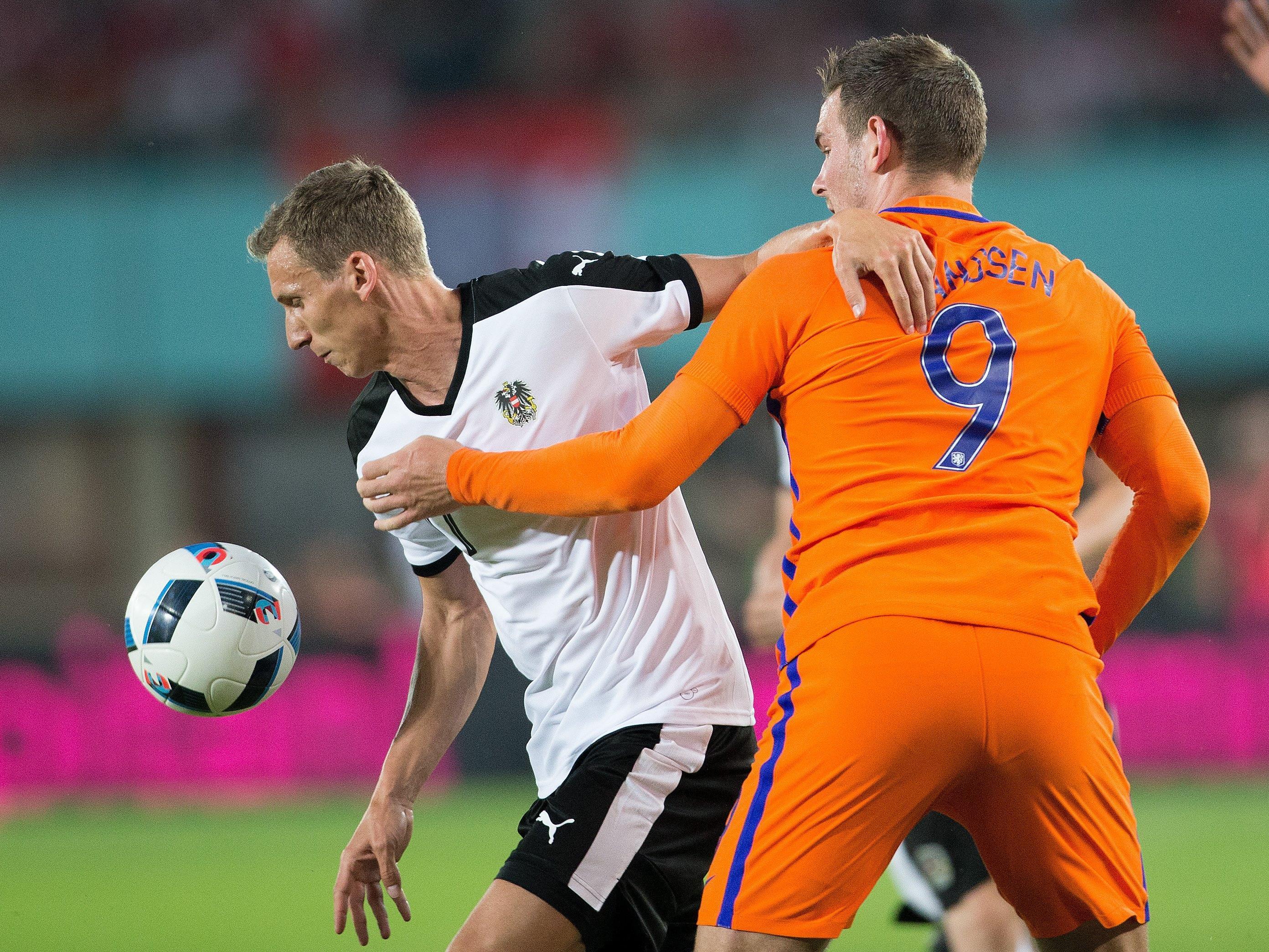 Österreich patzte im letzten Testspiel vor der EURO gegen die Niederlande.