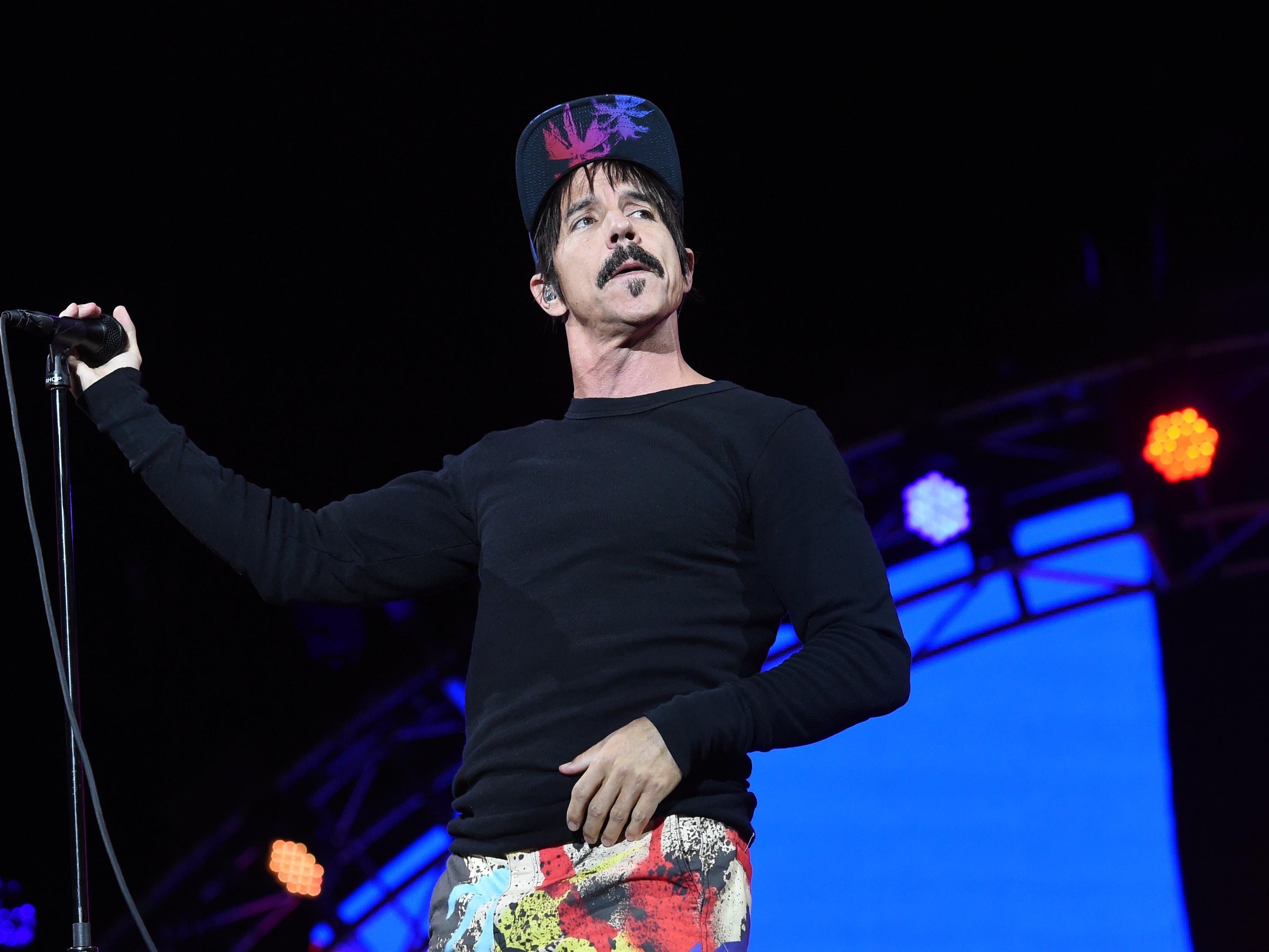"""Sänger Anthony Kiedis von der Band """"Red Hot Chili Peppers"""" bewies sich als Lebensretter."""