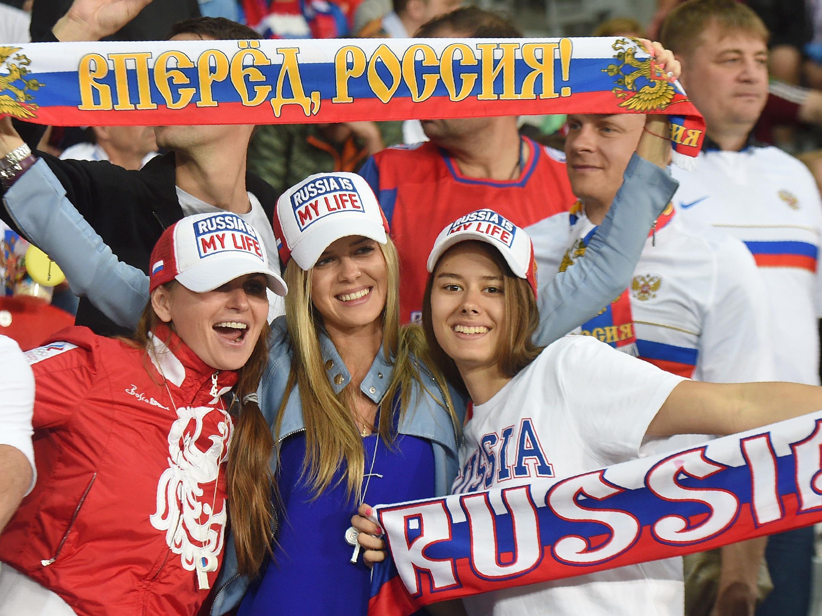 Russland Em Spiel