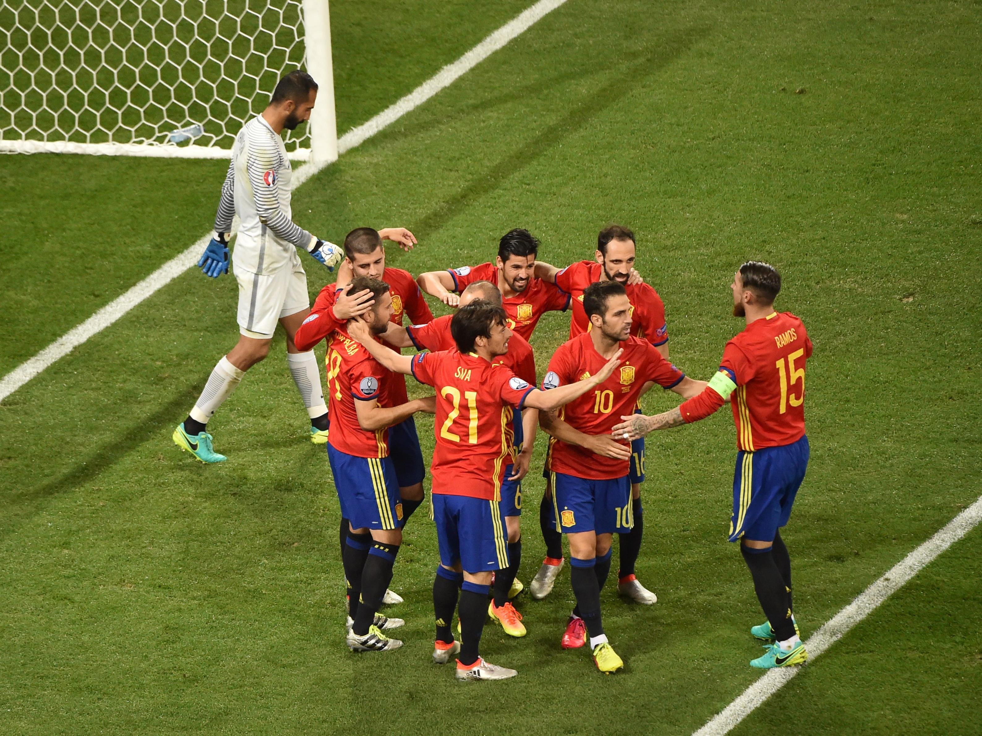Die Spanier überzeugten mit einer starken Leistung gegen die Türkei.