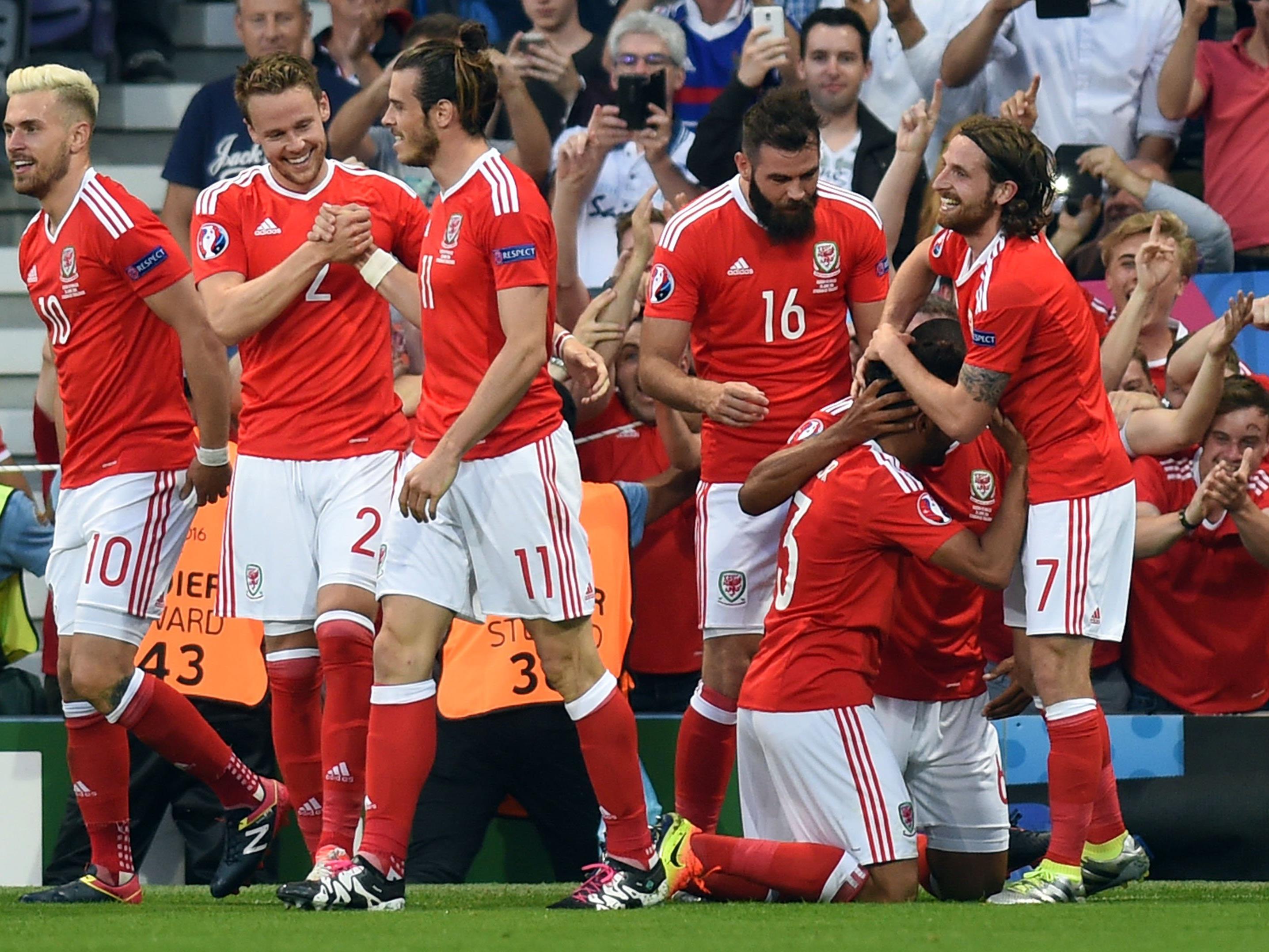 Wales feierte gegen Russland einen souveränen Sieg.