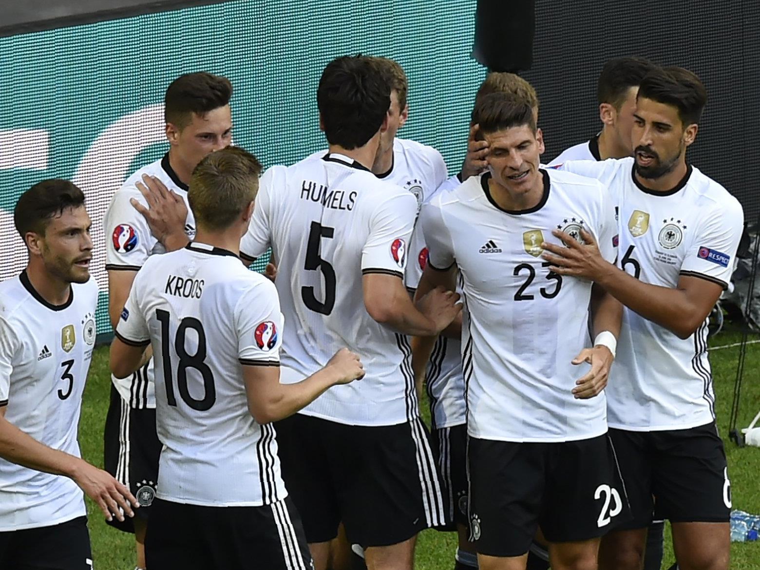 Deutschland jubelt über den Viertelfinal-Einzug bei der Euro 2016.
