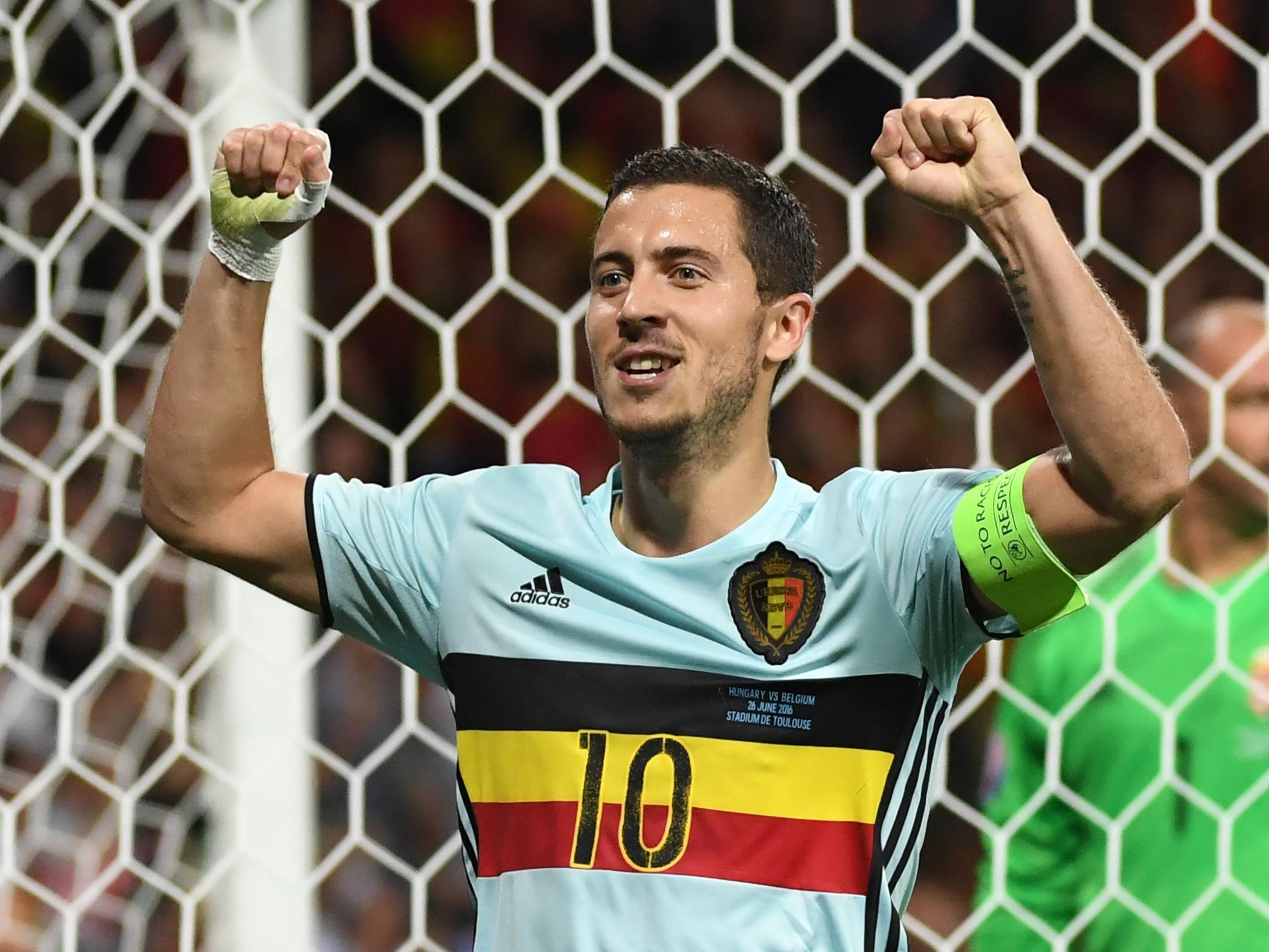 Hazard führte Belgien mit einer starken Leistung ins Viertelfinale.