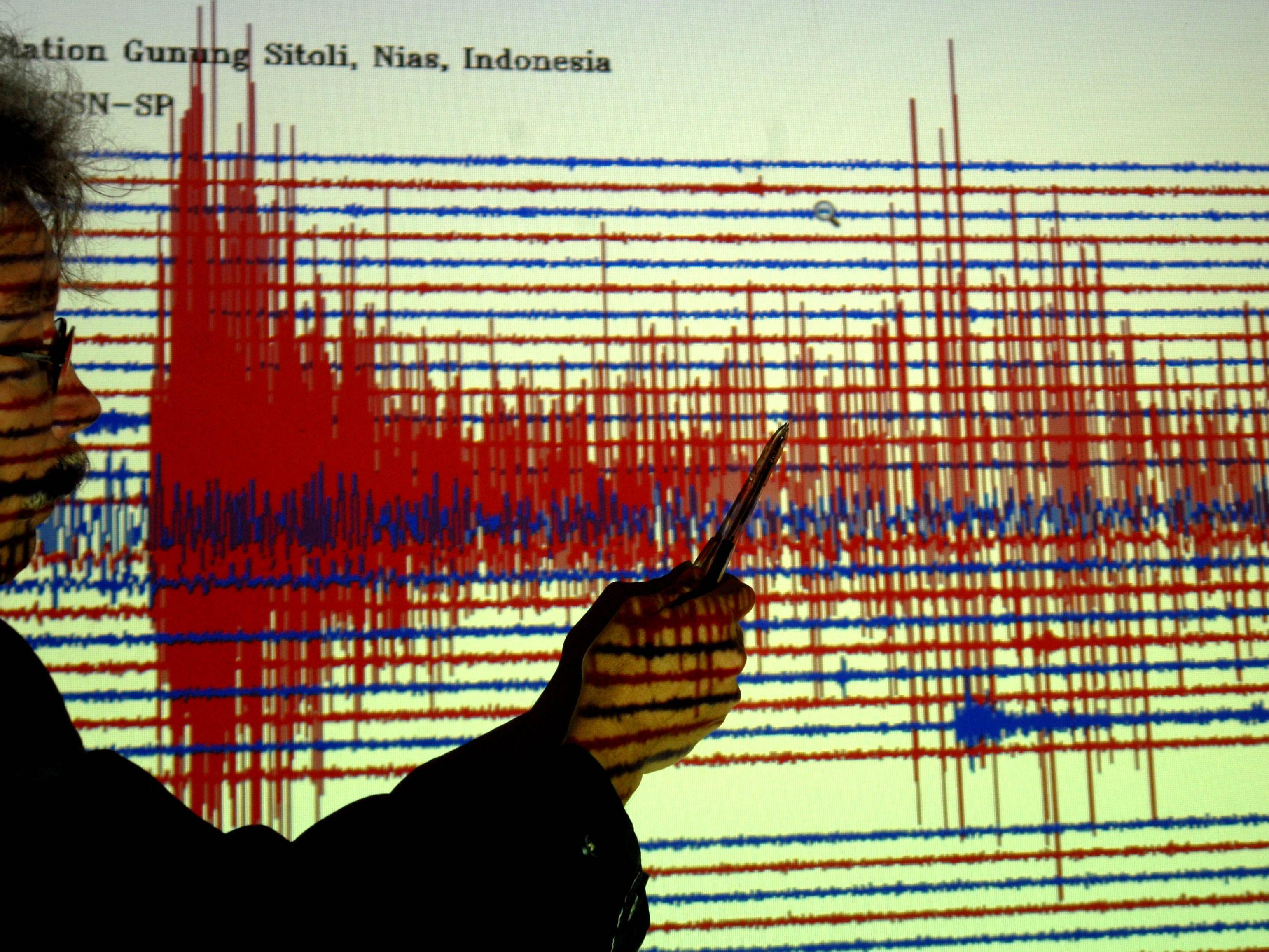 Das Erdbeben in Indonesien hatte die Stärke 6,2.