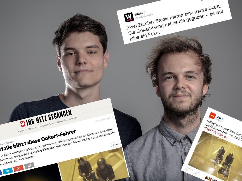 Die Züricher Studenten lösten einen Medienhype aus.
