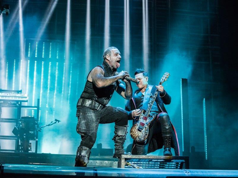 Rammstein rockten den Feitag am Rock in Vienna 2016.