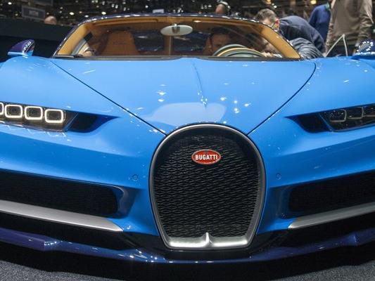 Beeindruckend: Der neue Bugatti Chiron soll den Fuhrpark der Polizei Dubai verstärken.