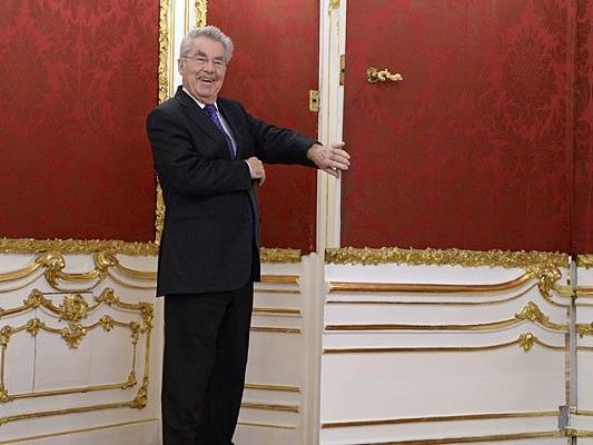 Heinz Fischer lädt kurz vor seinem Scheiden aus dem Amt zum Mittagessen