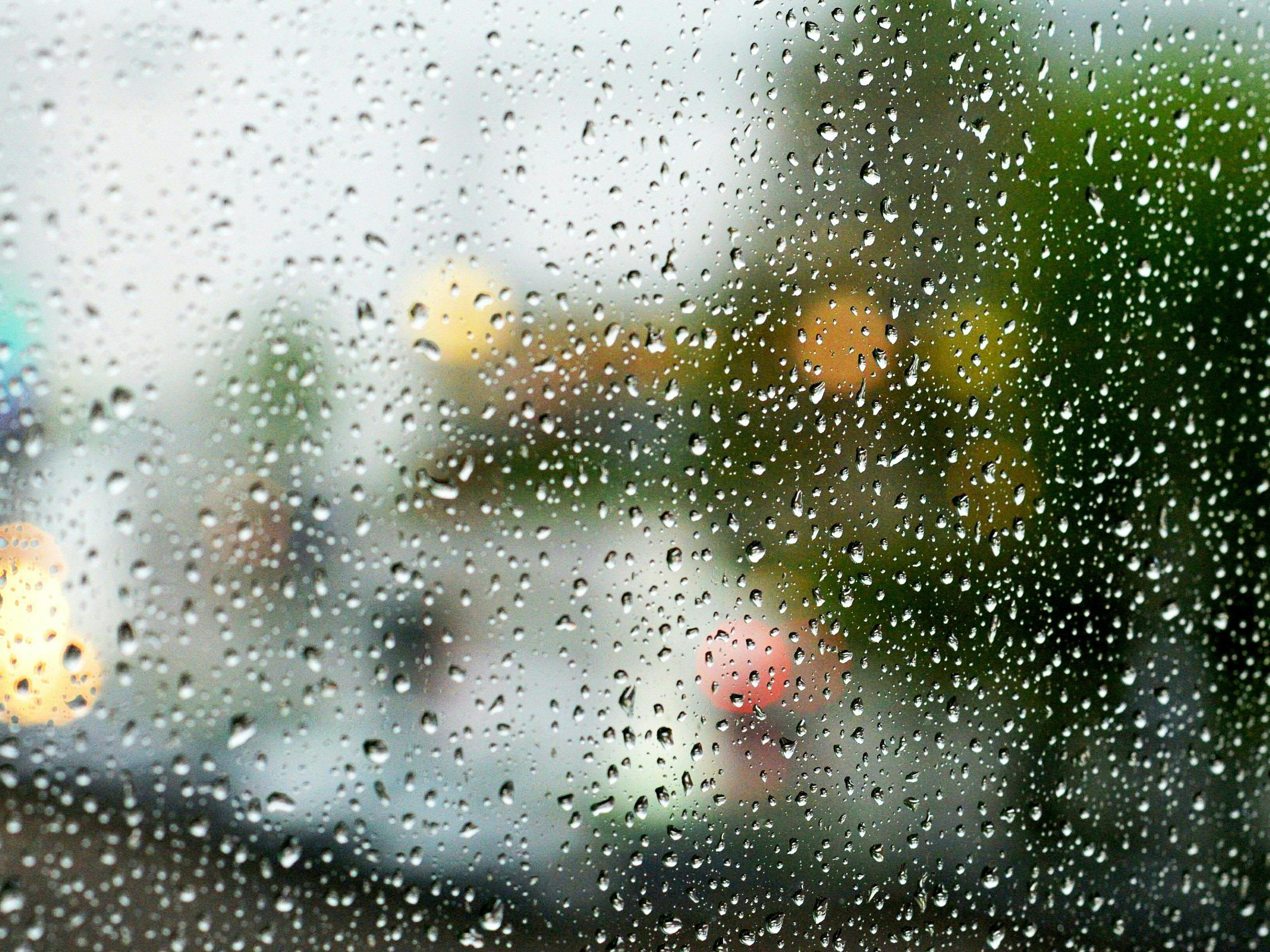 Am Wochenende ist immer wieder mit Regenschauern zu rechnen.