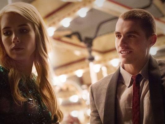 "Newcomer Emma Roberts und Dave Franco in ""Nerve"""