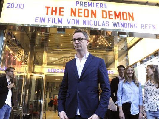 """Regisseur Nicolas Winding Refn präsentierte seinen neuen Film """"The Neon Demon"""" bei der Österreich-Premiere in Wien"""